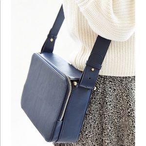 UO Silence + Noise Square Zip Crossbody Bag